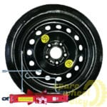 Space Saver / Full Size Steel Spare Wheels 2