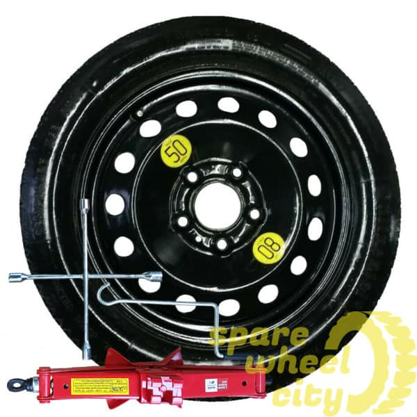 "MINI CLUBMAN ESTATE 2015 - PRESENT DAY  SPACE SAVER 17"" SPARE WHEEL KIT 1"