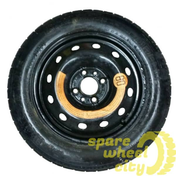 "FIAT DOBLO 2001 - 2010 4 STUD 15"" SPACE SAVER SPARE WHEEL 1"