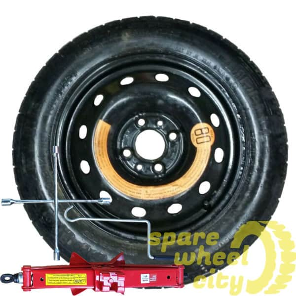 "FIAT QUBO 2006 - 2019 14"" SPACE SAVER SPARE WHEEL KIT 1"