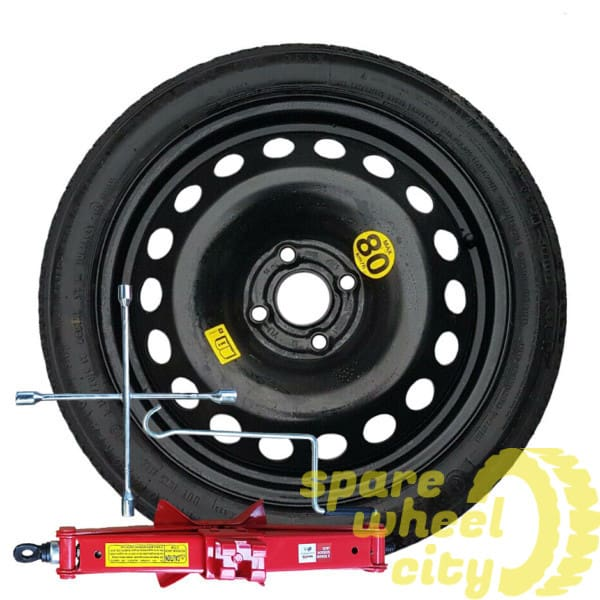 "HONDA  JAZZ  2008 - PRESENT DAY SPACE SAVER 16"" SPARE WHEEL KIT 1"