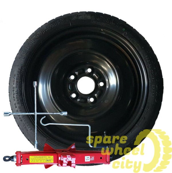 "VOLKSWAGEN  T/CROSS  2019 -  PRESENT  16"" SPACE SAVER SPARE WHEEL KIT 1"