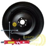 Space Saver / Full Size Steel Spare Wheels 4