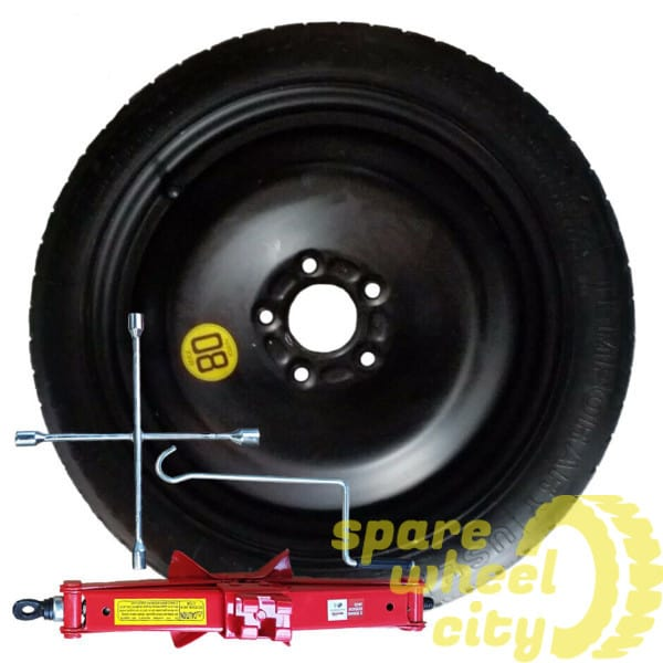 "VOLVO  S60  2010 - PRESENT  DAY  18"" SPACE SAVER SPARE WHEEL KIT 1"