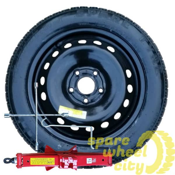 "PEUGEOT 3008  2016 - PRESENT  17"" ( 5 STUD ) SPACE SAVER SPARE WHEEL KIT 1"