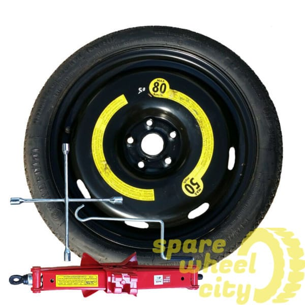 "AUDI  A3  04 - PRESENT 18"" SPACE SAVER SPARE WHEEL KIT 1"