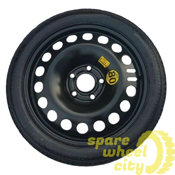 "VAUXHALL ADAM 2013 - 2019    5   STUD  16"" SPACE SAVER SPARE WHEEL 1"