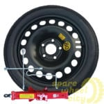 Space Saver / Full Size Steel Spare Wheels 10