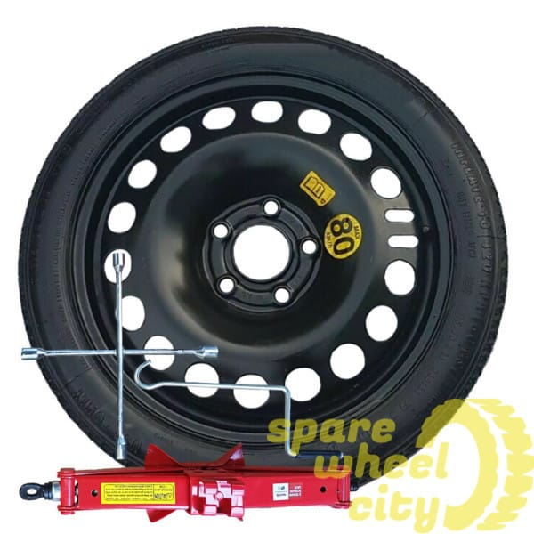"VAUXHALL ASTRA J / K   2010-2019  J60 16"" SPACE SAVER SPARE WHEEL KIT 1"