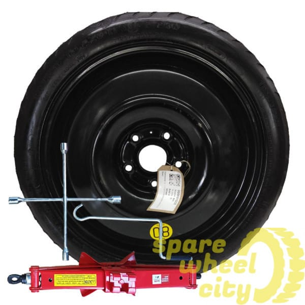 "TOYOTA  AURIS  2019 PRESENT  17"" SPACE SAVER SPARE WHEEL KIT 1"