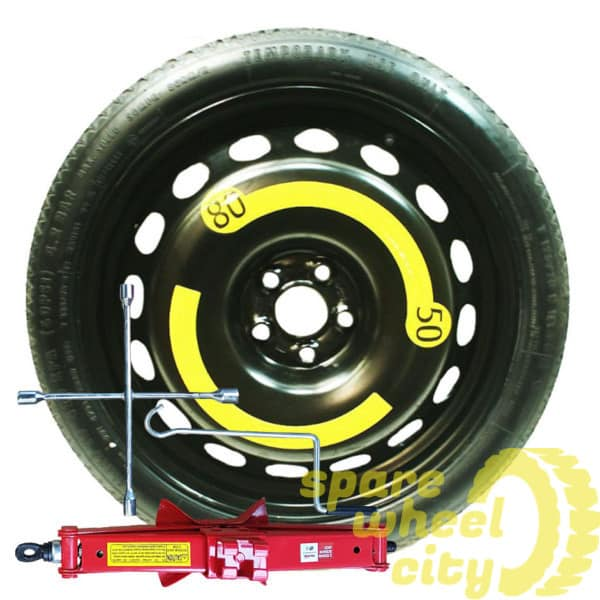 "MERCEDES  C  CLASS / AMG LINE  2008 - 2014  18"" SPACE SAVER SPARE WHEEL  KIT 1"