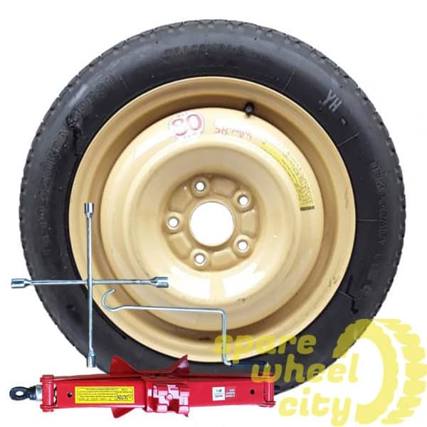 "VOLKSWAGEN   POLO  2009 - PRESENT   16"" SPACE  SAVER  SPARE  WHEEL  KIT 1"