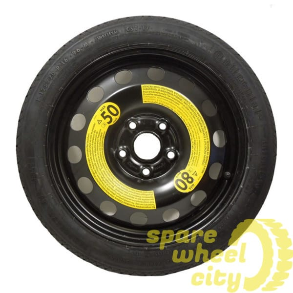 "SEAT LEON  2012 - 2019  16"" SPACE SAVER SPARE WHEEL 1"