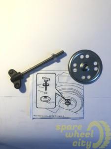 "AUDI Q3 2011 - PRESENT 18"" SPACE SAVER SPARE WHEEL KIT 2"