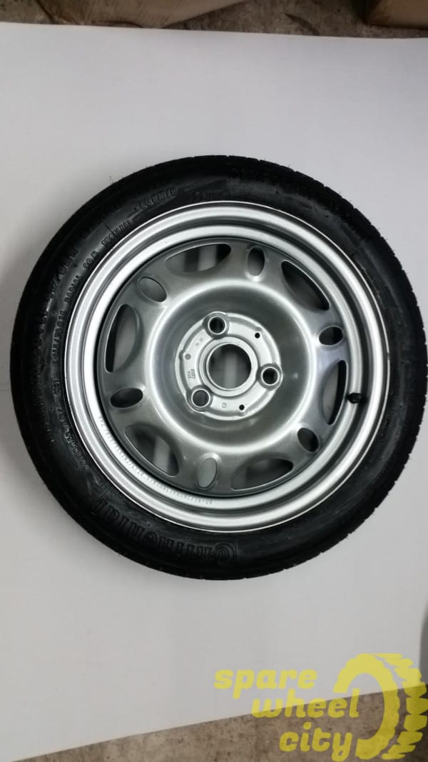 SMART   FORTWO  2007 -  2014   15 INCH  SPACE  SAVER   SPARE   WHEEL 1