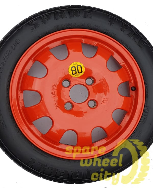 """FORD ECOSPORT 2014 - PRESENT 16"""" ( 4 STUD ) SPACE SAVER SPARE WHEEL 1"""